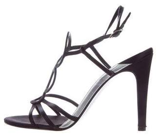 Azzaro Satin Cutout Sandals