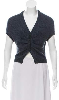 Brunello Cucinelli Cashmere Short Sleeve Shrug