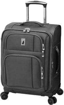 London Fog Camden 20-Inch Expandable Carry-On Spinner