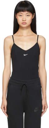 Nike Black Fitted Tank Bodysuit