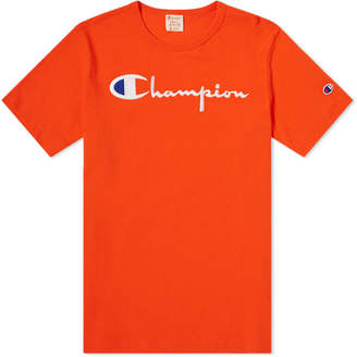 Champion Reverse Weave Script Logo Tee