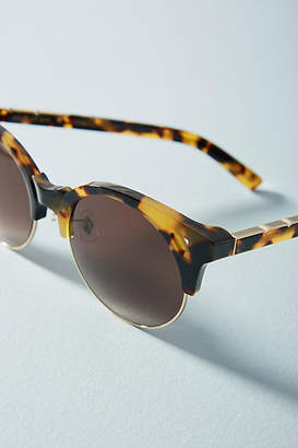 E.m. Pared Eyewear Up + at 'Em Round Sunglasses