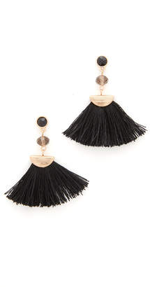Shashi Mia Tassel Fan Earrings $42 thestylecure.com