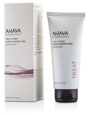 Ahava NEW Time To Treat Facial Renewal Peel 100ml Womens Skin Care