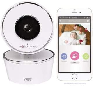 Project Nursery Smart Nursery Wi-Fi Baby Monitor