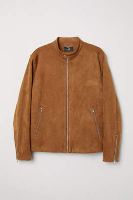 H&M Faux Suede Jacket - Beige