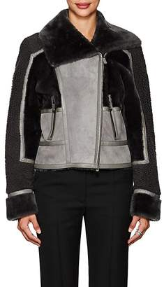 J. Mendel Women's Patchwork Shearling Jacket