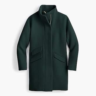 J.Crew Tall cocoon coat in Italian stadium-cloth wool
