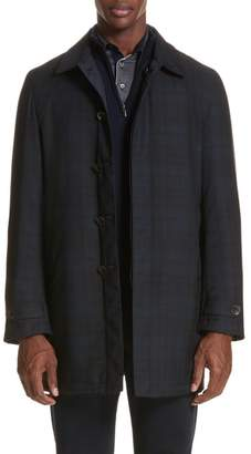 Canali Regular Fit Reversible Raincoat