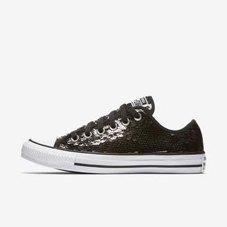 Converse Chuck Taylor All Star Sequins Low Top Women's Shoe