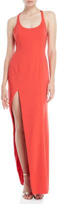 Jay Godfrey Yara Asymmetrical Racerback Gown