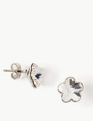 Marks and Spencer Stud Earrings with Swarovski® Crystals