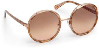 Henri Bendel Jamie Round Sunglasses