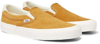 Vans OG 59 LX Suede Slip-On Sneakers - Men - Yellow