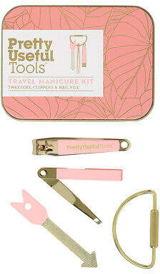 styling/ NEW Pretty Useful Tools Travel Manicure Kit Sunset Pink