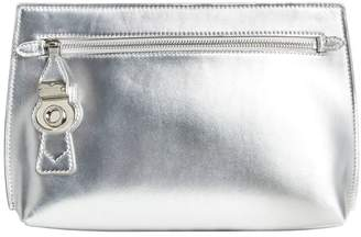 Burberry embossed logo pouch