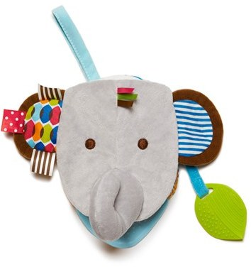 Infant Skip Hop 'Bandana Buddies' Elephant Puppet Book