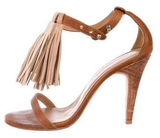 Ulla Johnson Leather Tassel-Accented Pumps
