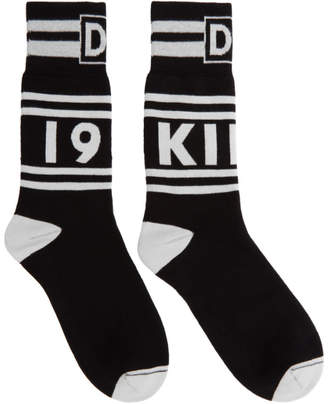 Dolce & Gabbana Black and White King 1984 Socks