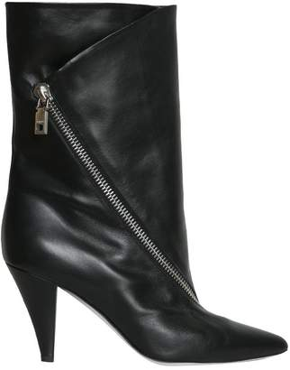 Givenchy Leaether Zipped Boots