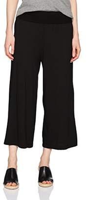 Michael Stars Women's Cotton Modal Cropped Wide Leg Culottes