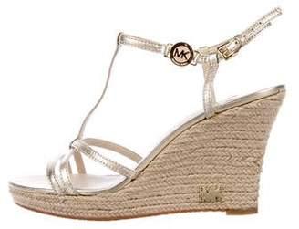 MICHAEL Michael Kors Logo Espadrille Sandals