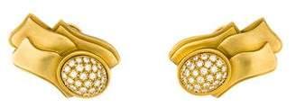 Kieselstein-Cord 18K Diamond Earrings