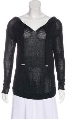Diane von Furstenberg Garnet Bateau Neck Sweater