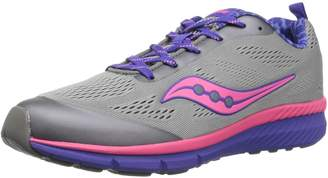 Saucony Girl's Ideal Running Shoes, Grey/Multi