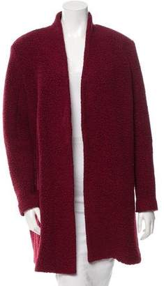 Tibi Textured Long Jacket