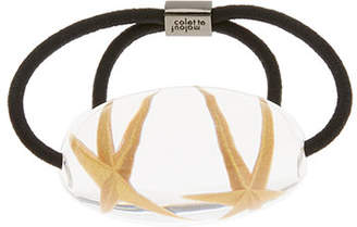 Colette Malouf Star Fossil Ponytail Holder