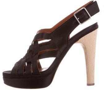 LanvinLanvin Crossover Platform Sandals