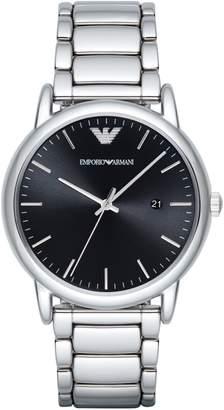 Emporio Armani Analog Dress Luigi Stainless Steel Bracelet Watch