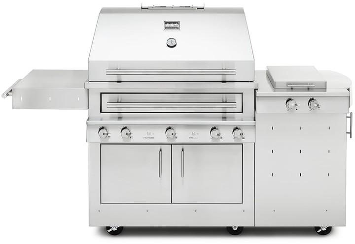 Kalamazoo Hybrid Freestanding Grill with Side Burner
