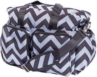 Trend Lab TREND LAB, LLC Chevron Deluxe Duffel Diaper Bag