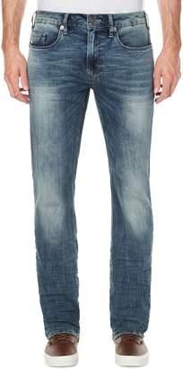 Buffalo David Bitton Evan Slim-Straight Faded Jeans