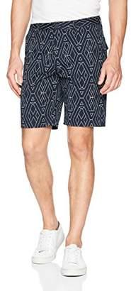 Armani Exchange A|X Men's Geometric Logo Bermuda Shorts