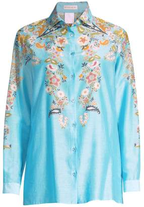 Etro Floral Button-Down Shirt