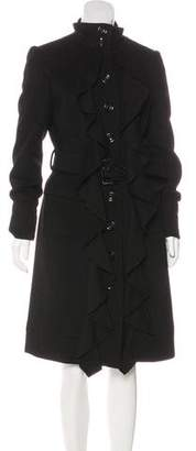 Diane von Furstenberg Wool Millitette Coat