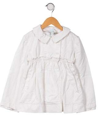 Marie Chantal Girls' Round Collar Casual Coat w/ Tags
