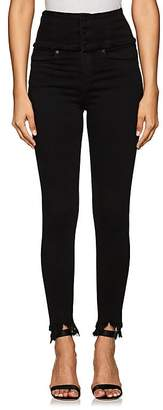 Blank NYC Blanknyc Women's Lace-Up-Back Skinny Jeans