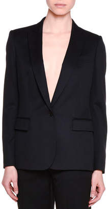Stella McCartney Classic Tailored One-Button Suit Jacket, Black