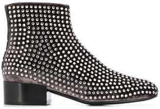 Alberto Gozzi studded ankle boots