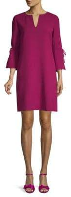 Lafayette 148 New York Deandra Quarter-Sleeve Shift Dress