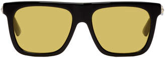 Gucci Black and Yellow Crystal Sunglasses