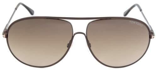 Tom Ford Cliff Sunglasses FT0450 49K | Dark Brown Frame | Brown Gradient Lens
