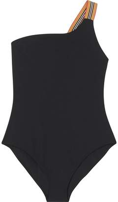 Burberry Icon stripe detail swimsuit