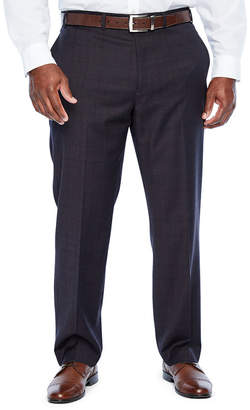 COLLECTION Collection by Michael Strahan Collection By Michael Strahan Plaid Classic Fit Stretch Suit Pants - Big and Tall
