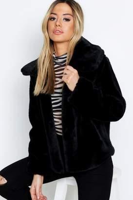 c8e9f29dcaa9c Petite Faux Fur Coats - ShopStyle