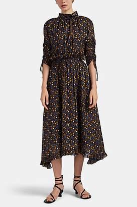 Masscob Women's Montes Floral Cotton Dress - Black